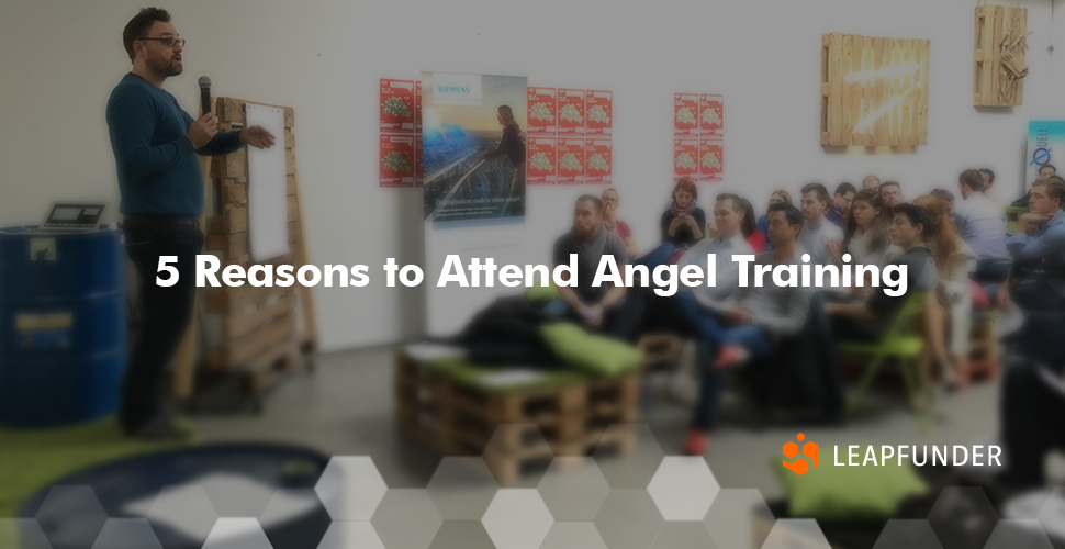 5 Reasons to Attend Angel Training