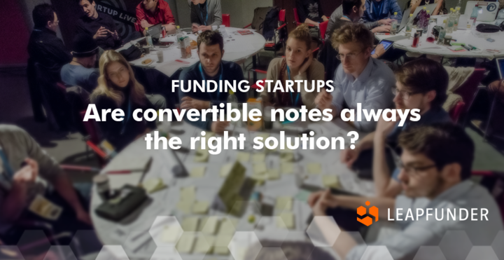 Are convertible notes always the right solution?