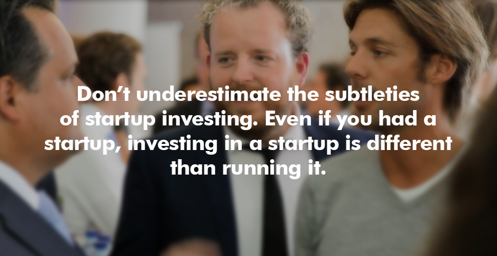 How to Invest in a Startup