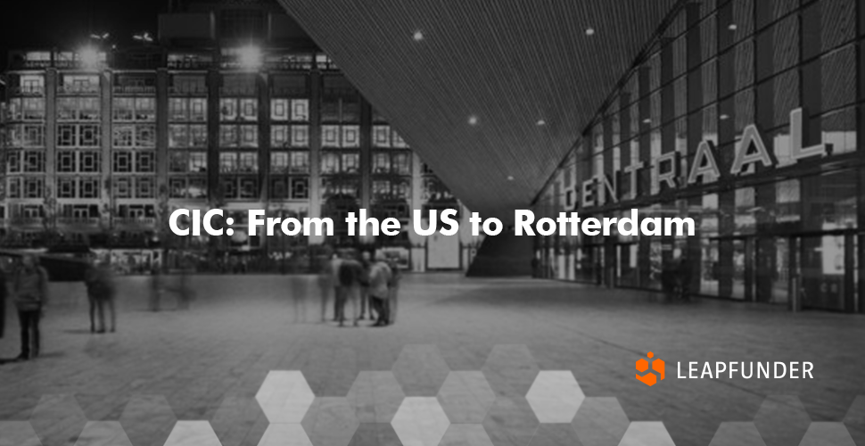 CIC - From the US to Rotterdam