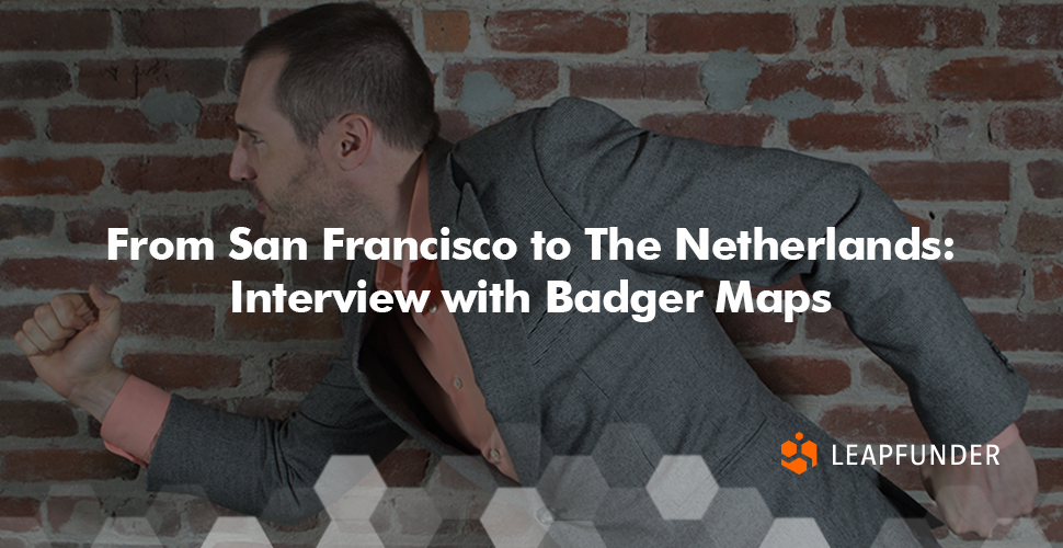 From San Francisco to The Netherlands- Interview with Badger Maps
