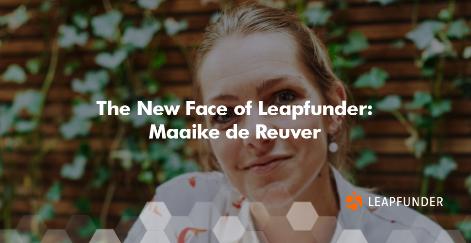 The New Face of Leapfunder Maaike de Reuver