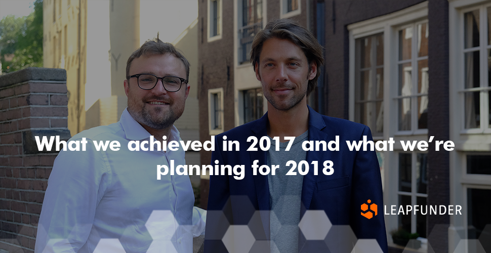 What we achieved in 2017 and what we're planning for 2018