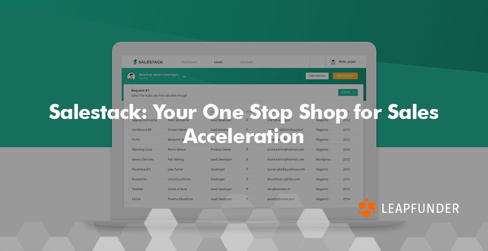 Salestack: Your One Stop Shop for Sales Acceleration