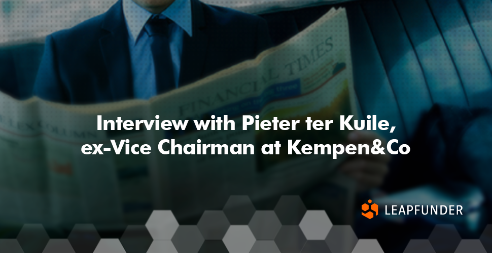 Interview with Pieter ter Kuile, ex- Vice Chairman at Kempen&Co