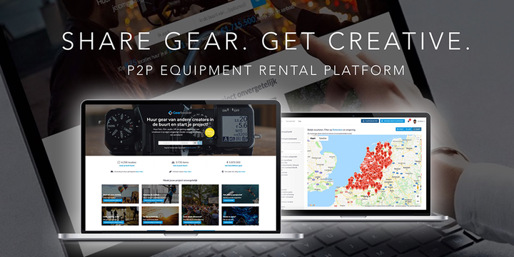 Gearbooker: Rent Gear from Creators Around You and Unlock Your Creativity