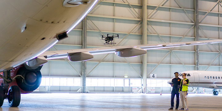 Mainblades: Fully Automated Aircraft Drone Inspections