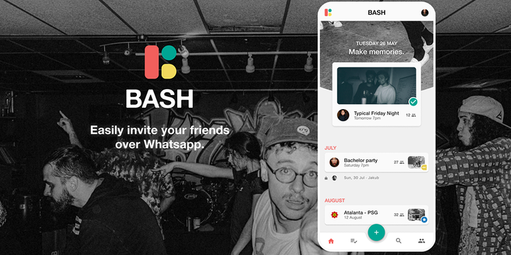 BASH: a Social Network Based on Events