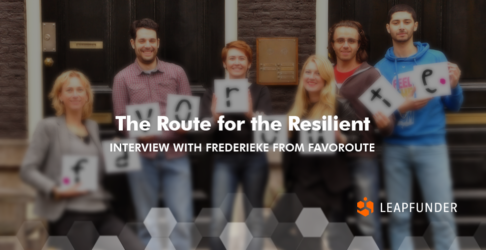 The Route for the Resilient - Interview  with Favoroute