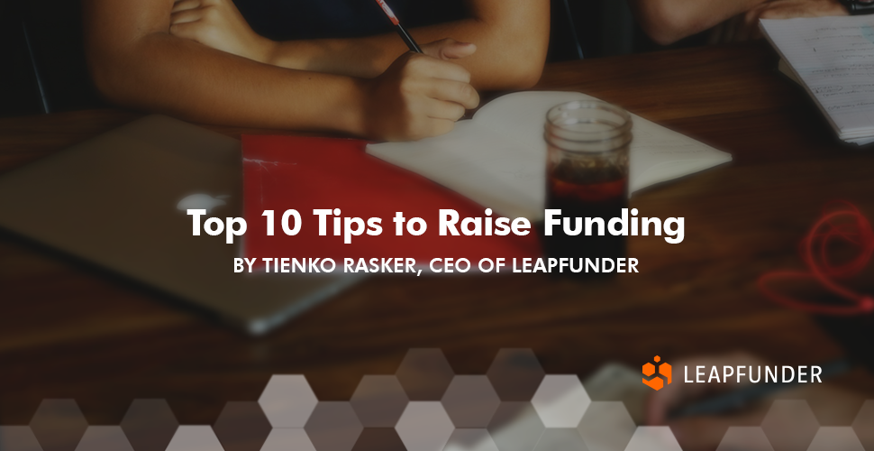Top 10 Tips to Raise Funding
